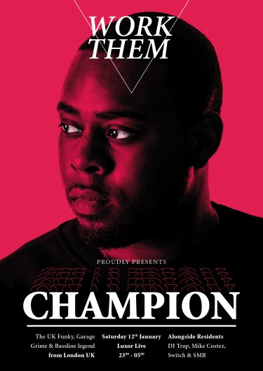 ft. CHAMPION (UK)