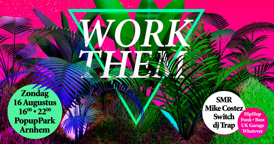 Up Next: Work Them  in het popuppark